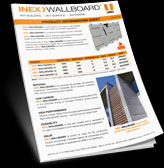 INEX WALLBOARD INFO Sheet
