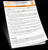 thm inex decking warranty