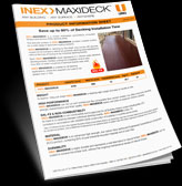 thm INEX MAXIDECK Information Sheet